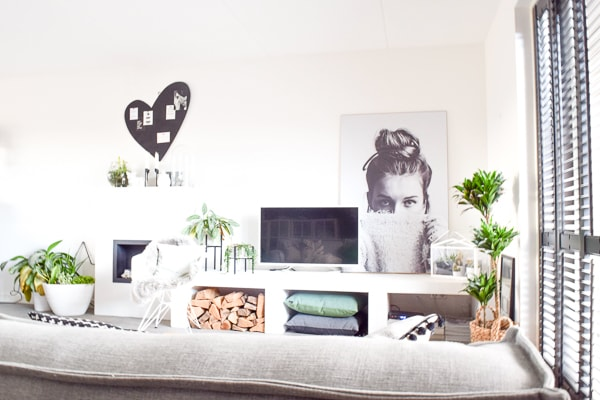 grote poster op hout