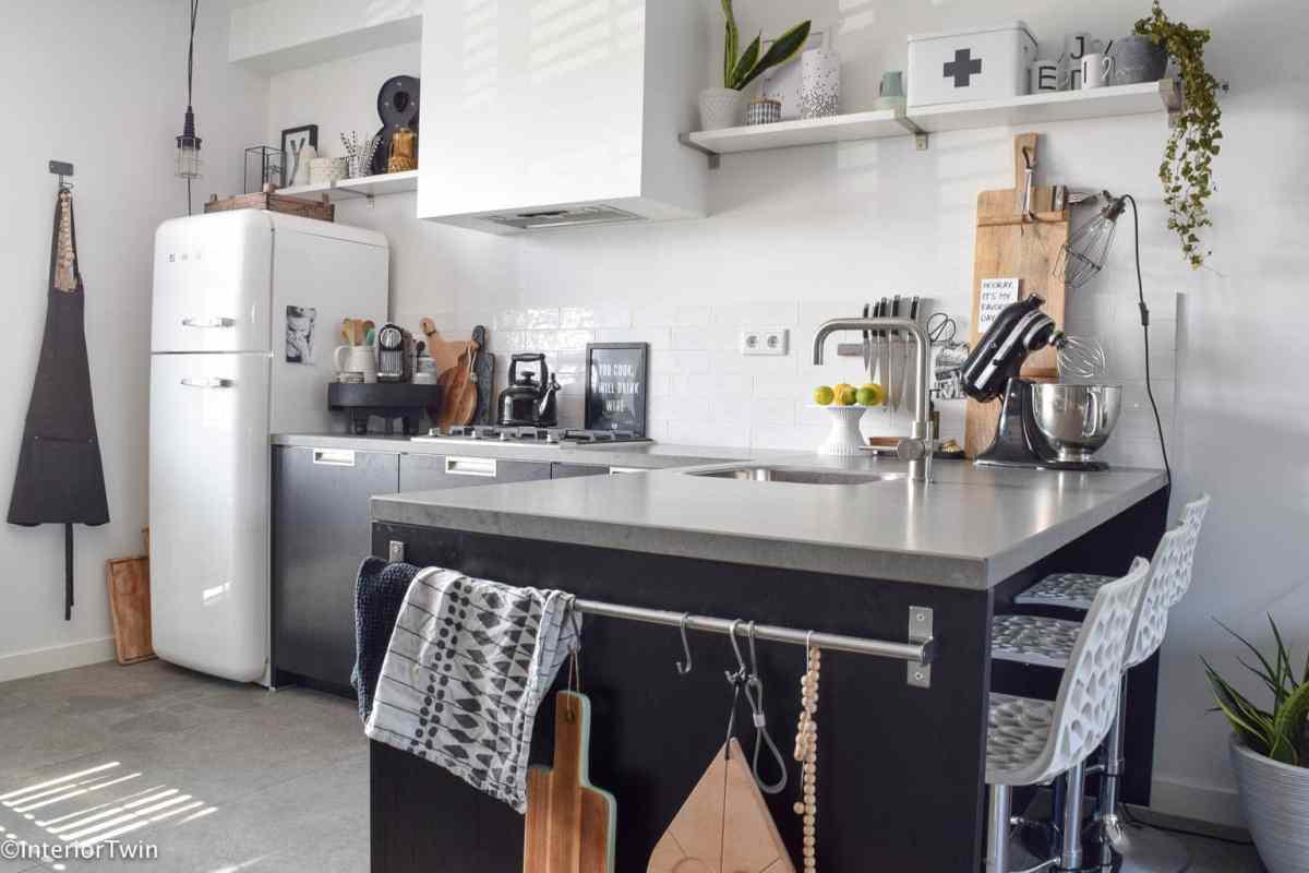 Zwarte keuken: 4 tips - InteriorTwin