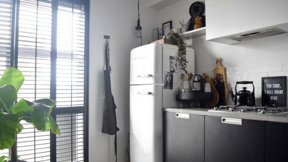Zwarte keuken - InteriorTwin