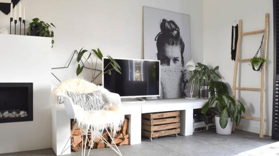 stylen van de woonkamer - InteriorTwin