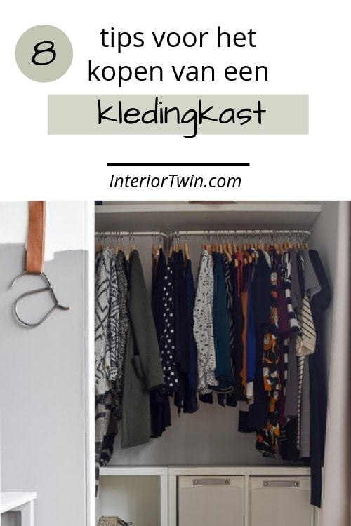 dingen om op te letten bij het kopen van een kledingkast