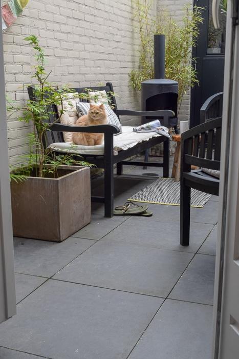 inrichting kleine tuin
