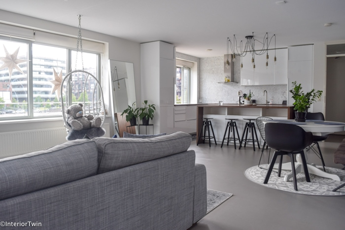 scandinavische inrichting appartement