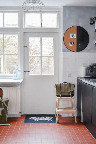 oude tegelvloer woning