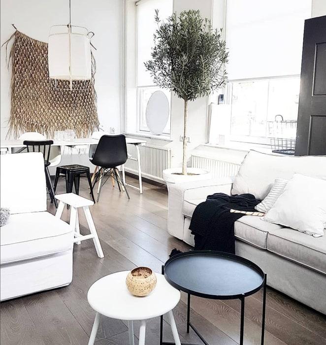 @debsinterior monochrome interieur woonkamer