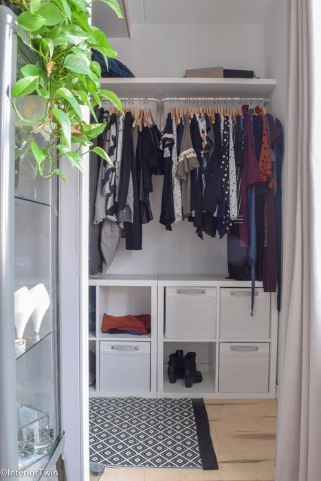 Maak Zelf Low Budget Je Eigen Inloopkast Met Meubels Van Ikea