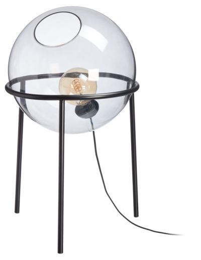 glazen lamp &ensuus wown