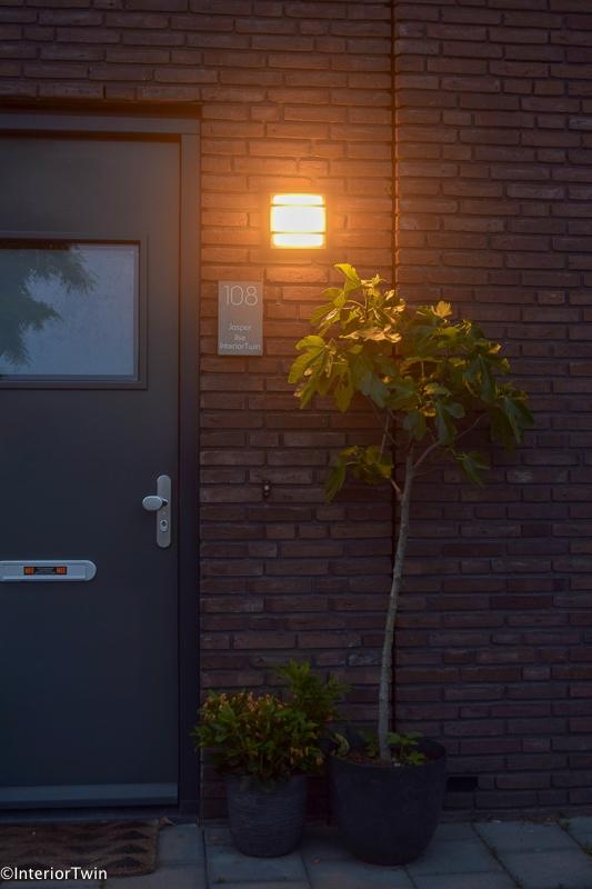 mygarden wandlamp voordeur
