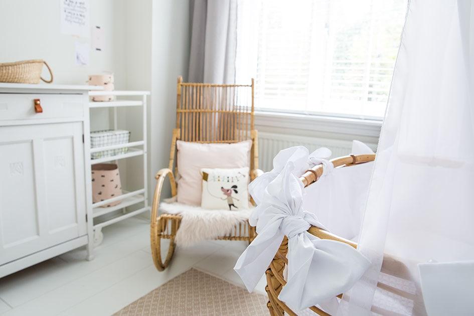 Babykamer vintage stoel