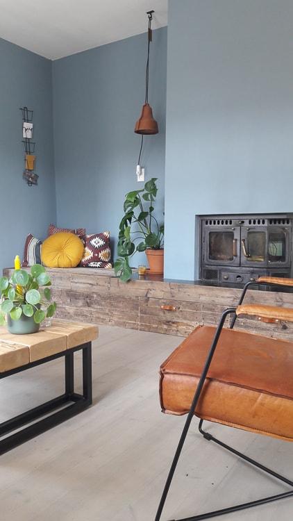 @mijndijkhuisje kleurrijk en industrieel