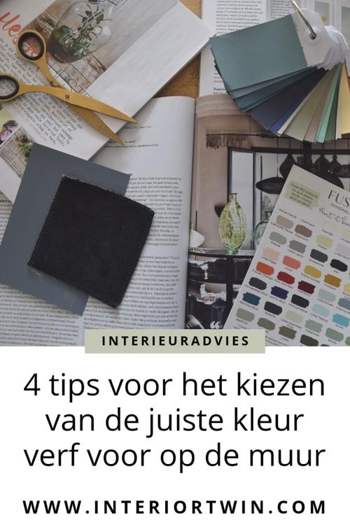 4 tips voor het kiezen van de juiste kleur verf voor op de muur