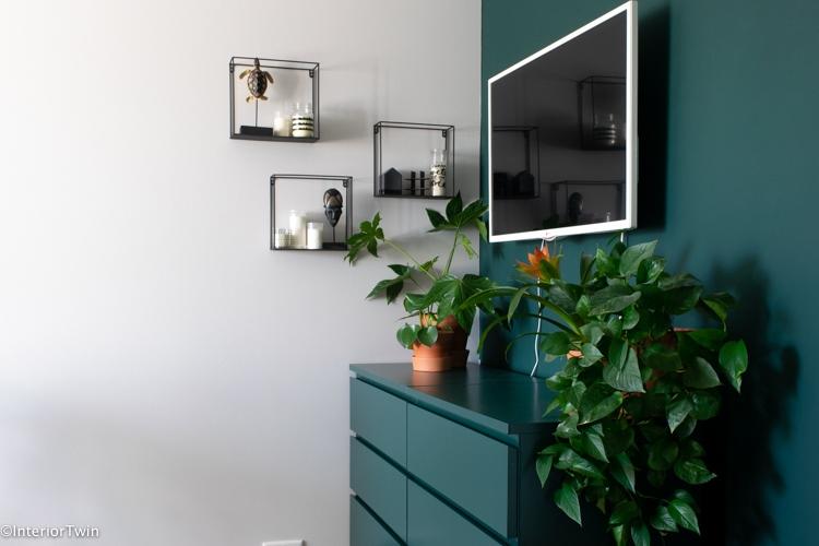 originele manieren om de tv op te hangen