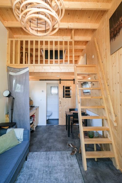 houten tiny house