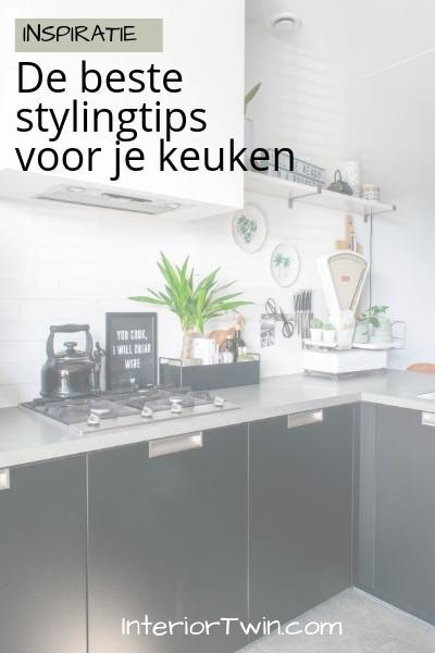 ideeën voor decoratie en styling in de keuken