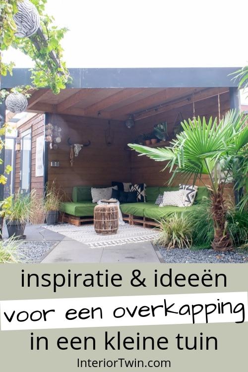 inspiratie en ideeen voor een overkapping in een kleine tuin