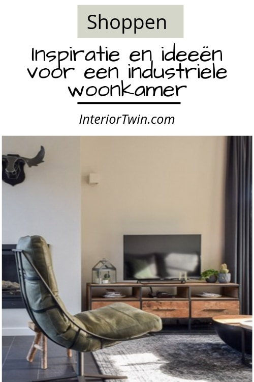 shoppen industriele woonstijl meubels en accessoires woonkamer