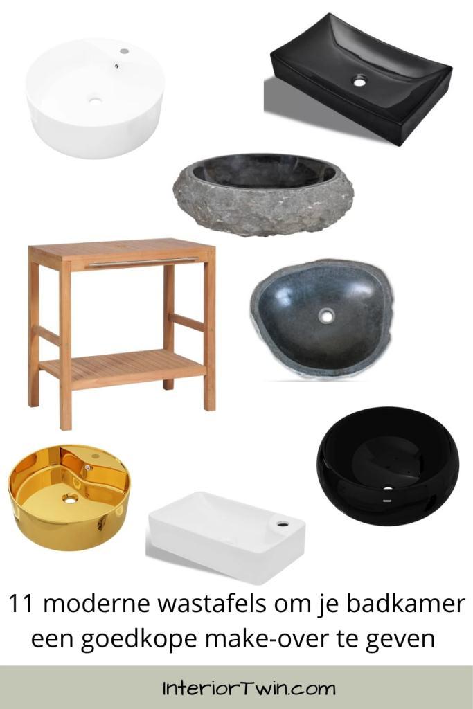 11 moderne wastafels om je badkamer een goedkope make-over te geven