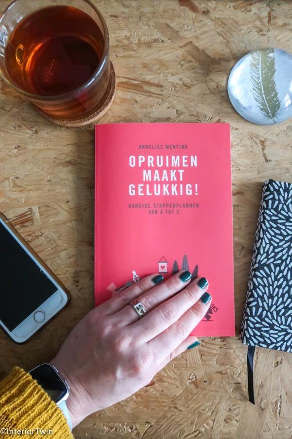 boek opruimen maakt gelukkig ervaring