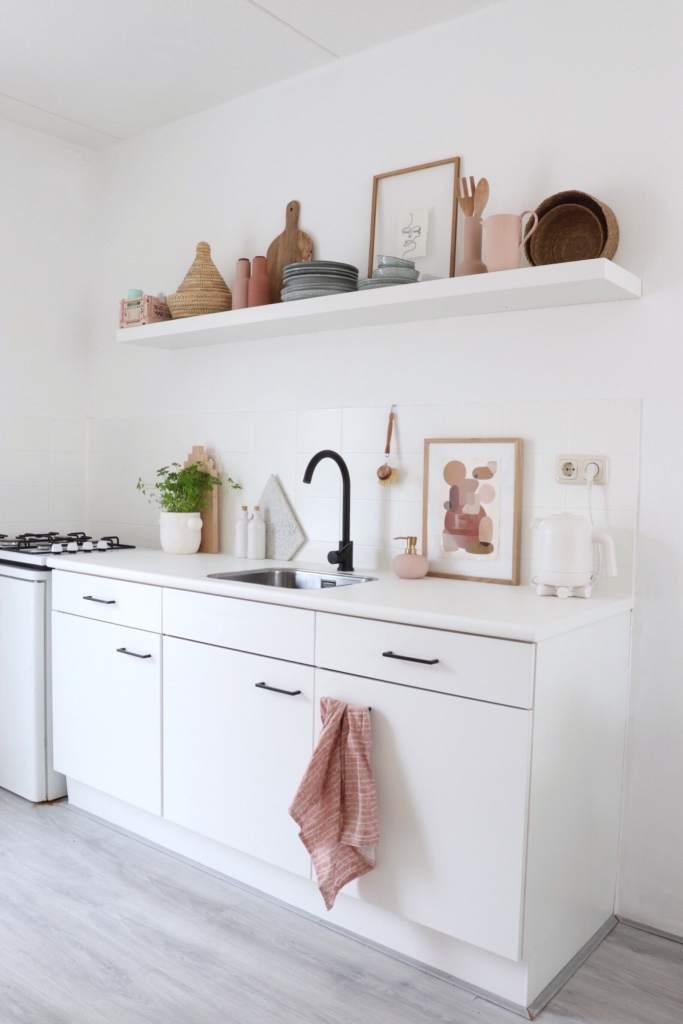 keuken huurhuis opknappen stijlinge