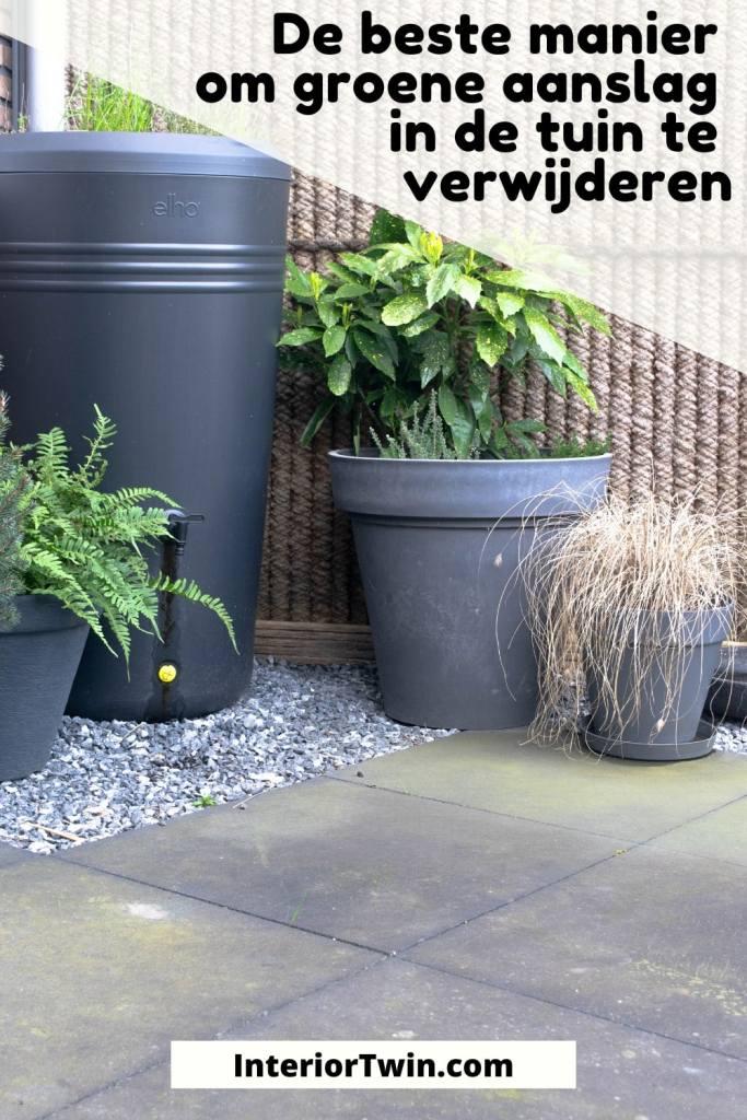 beste manier groene aanlag tuin verwijderen