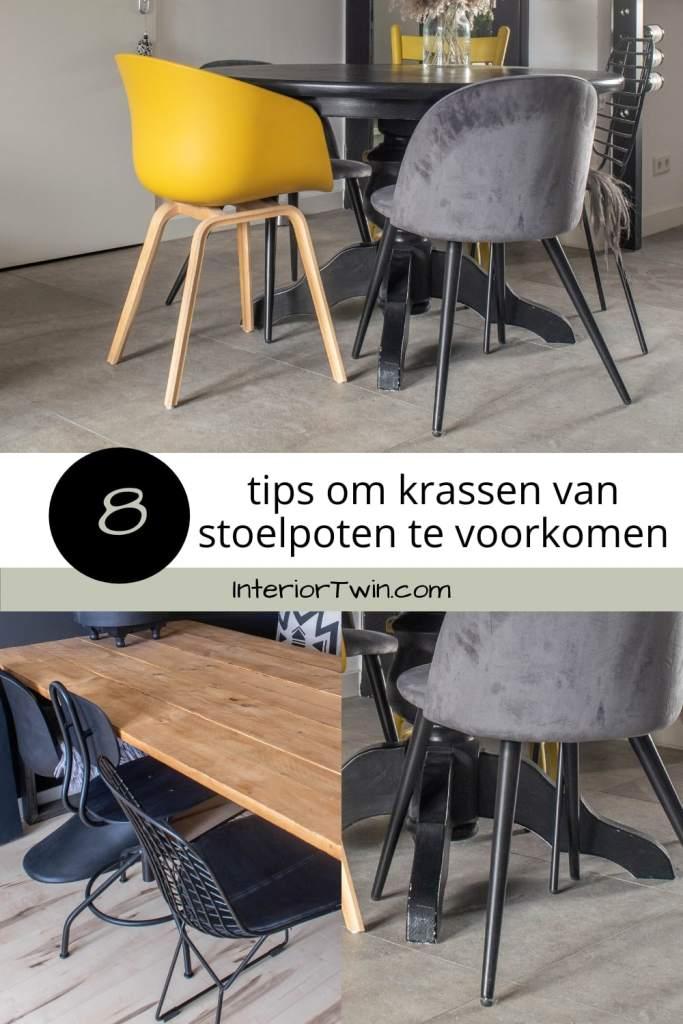 8 tips om krassen van stoelpoten te voorkomen