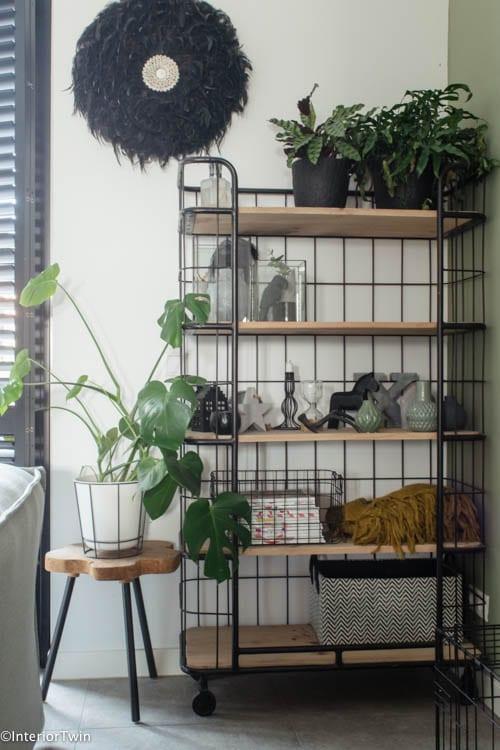 bakkerkast woonkamer