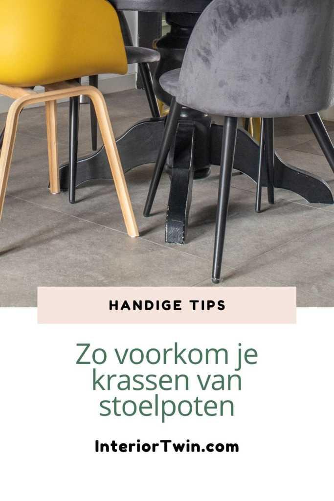 krassen stoelpoten voorkomen