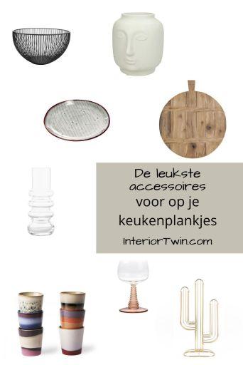 accessoires voor op keukenplankjes
