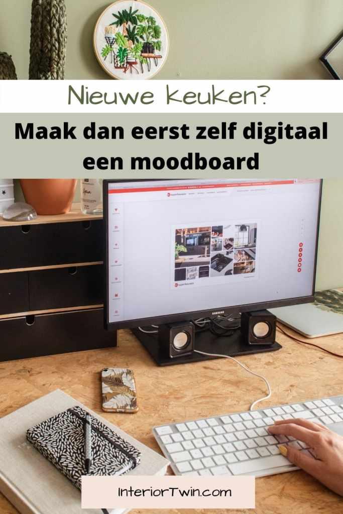 nieuwe keuken digitaal moodboard maken