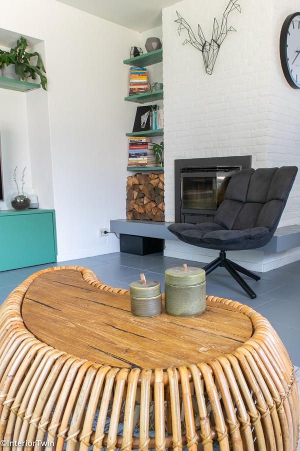 zithoek loungechair eleonora draaistoel