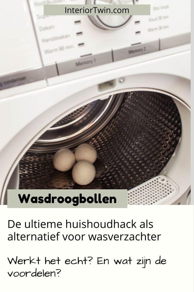 huishoudhack wasverzachter wasdroogbollen