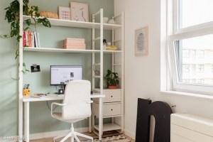 ikea hack thuis werkplek bureau