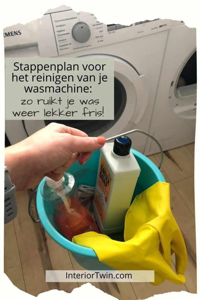 stappenplan reinigen wasmachine
