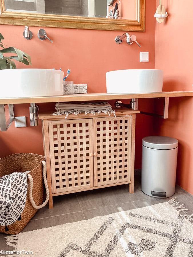 wastafelonderkast kleine badkamer