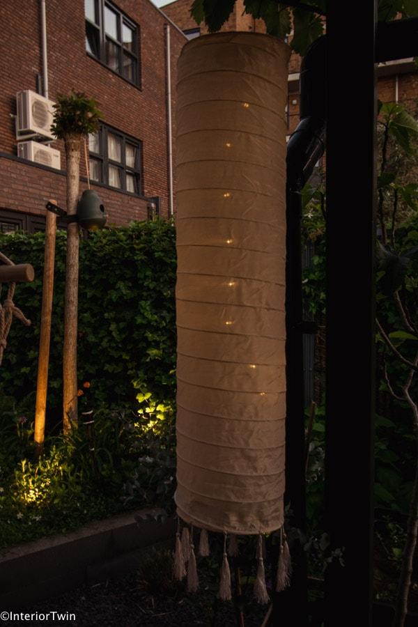 chinese solar lantaarn snachts
