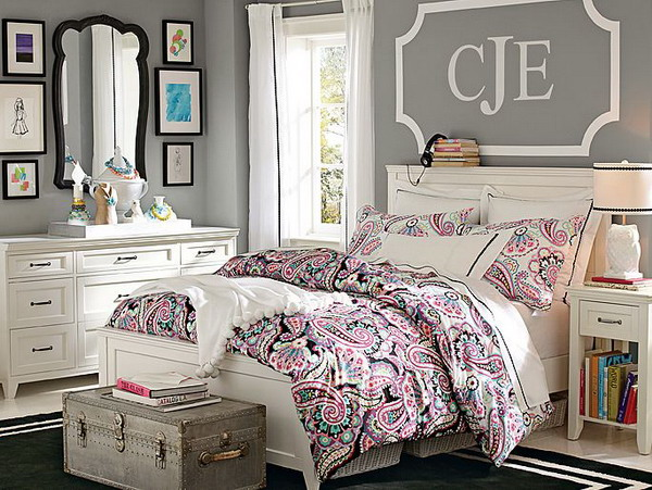 Modern And Trendy Teen Girl Bedrooms - Interior Vogue on Bed Rooms For Girls Teenagers  id=18227
