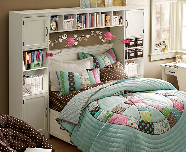 Modern And Trendy Teen Girl Bedrooms - Interior Vogue on Room For Girls Teenagers  id=24944