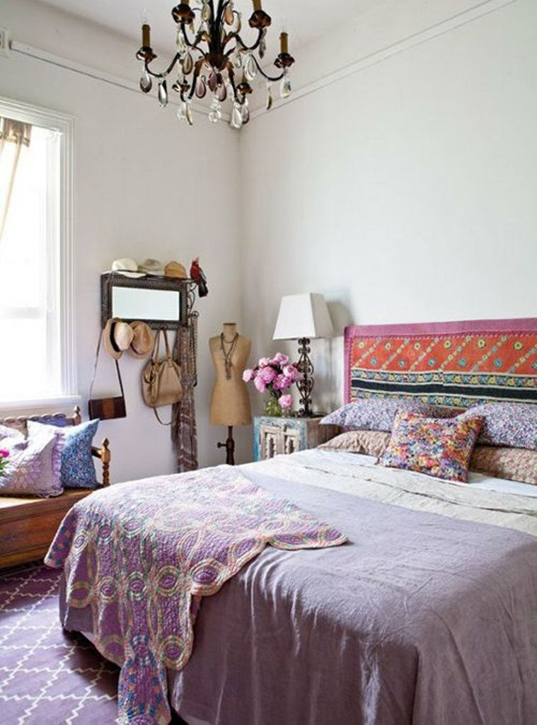 Beautiful Boho Chic Bedroom Designs - Interior Vogue on Boho Bedroom  id=89205