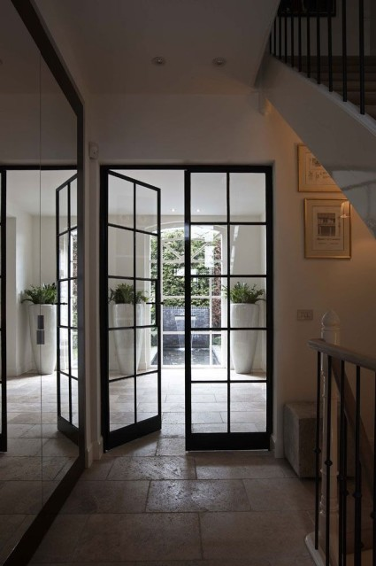 For the Love of   Steel Doors and Windows     Window Wall Interior Steel Doors   Interior Walls Designs Blog