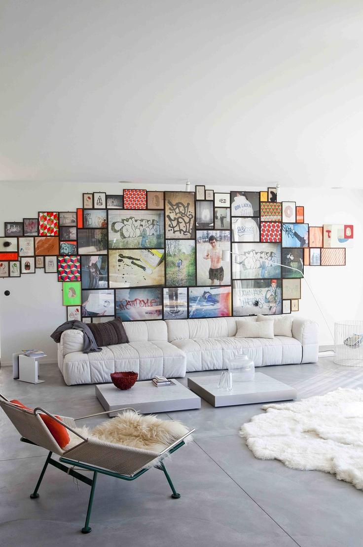 Billedvaeg Home Decor Stue Livingroom Indretning Frame Billeder Poster Plakater Interiorwise
