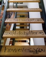 Photo: http://designdolci.blogspot.dk/2011/06/ill-gladly-take-these-stairs.html