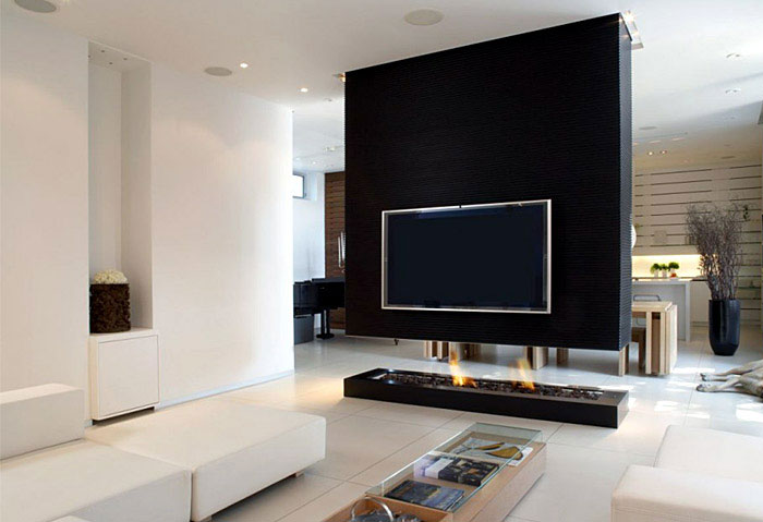 Clean, Modern Aesthetic modern interior design