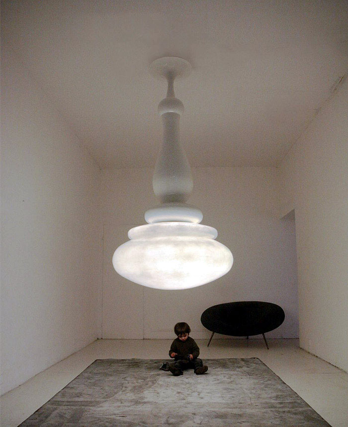 The Lucilla Lamp By Imperfetto Lab Interiorzine