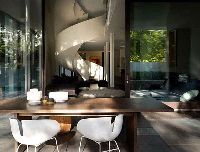 A Luxurious Contemporary Family Home exterior living1
