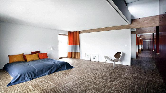 Amazing villa from Danish architect Jeppe Utzon amazing danish villa bedroom