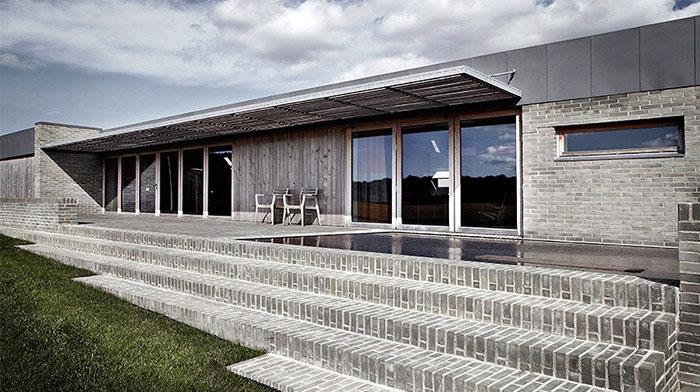 Amazing villa from Danish architect Jeppe Utzon amazing danish villa exterior