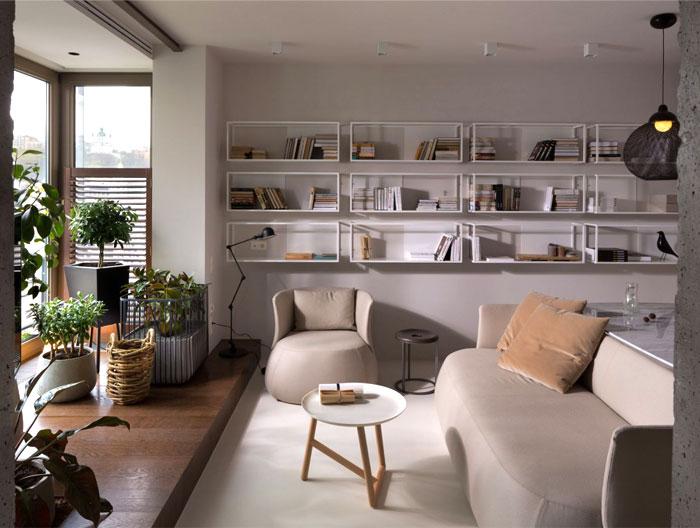 Elegant And Stylish Apartment Renovation By Olga Akulova