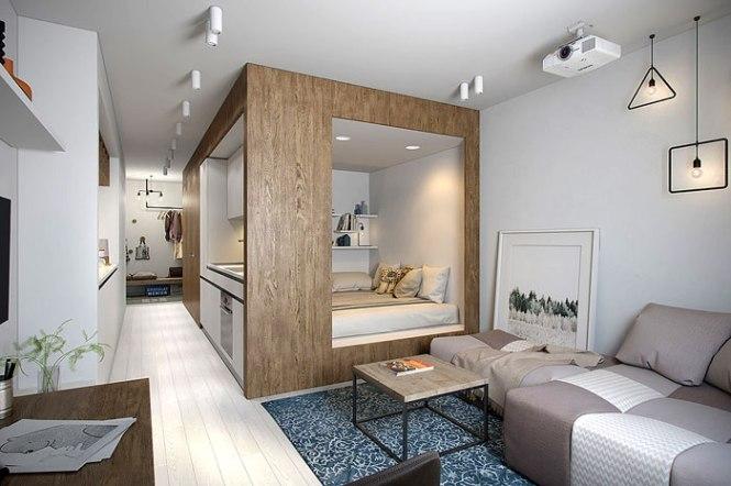 50 Small Studio Apartment Design Ideas 2019 Modern Tiny