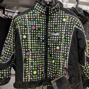 Castle X Multicolored Twist Bella Youth Large Snowmobile Jacket