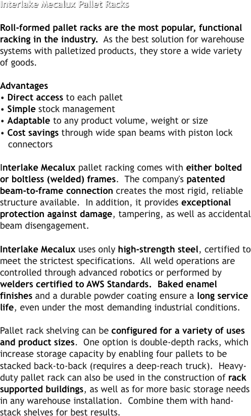 interlake systems
